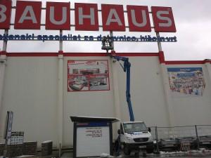 Evrorent | Najem, prodaja in servis dvižnih ploščadi | Bauhaus