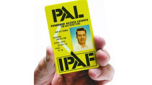 Licenca za varno upravljanje strojev