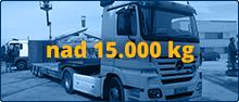 Prevoz nad 15.000 kg